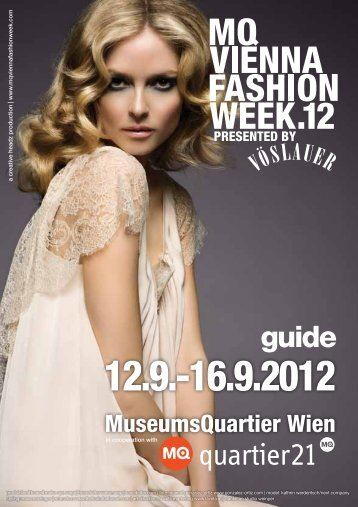 MQ VIENNA FASHION WEEK.12 MAGAZINE