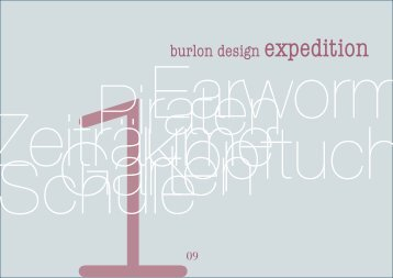 Ausgabe 01 - burlon design
