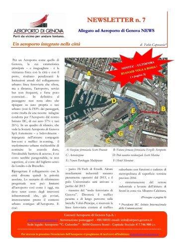 NEWSLETTER n. 7 - OLT Osservatorio Logistica e Trasporti