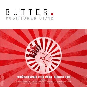 P O S I T I O N E N 01 / 12 - Butter