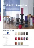 Metallic Sensation Teelichte Regalpräsentation - Candle-Company - Seite 6