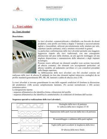 Travi saldate - Fondazione Promozione Acciaio