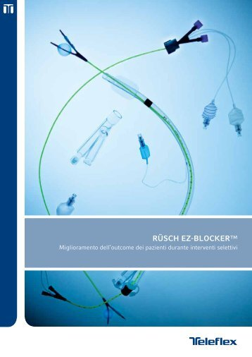 RÜSCH EZ-BLOCKER™ - Teleflex Incorporated