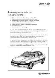 Avensis - Toyota