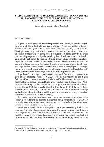 studio retrospettivo sull'utilizzo della tecnica pocket nella correzione ...