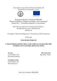 FONDO SOCIALE EUROPEO - F.S.E. Programma Operativo ...