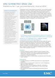 H9716 EMC Symmetrix VMAX 40K Storage System, Data Sheet