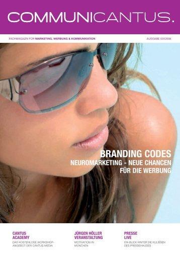 BRANDING CODES - Cantus Media