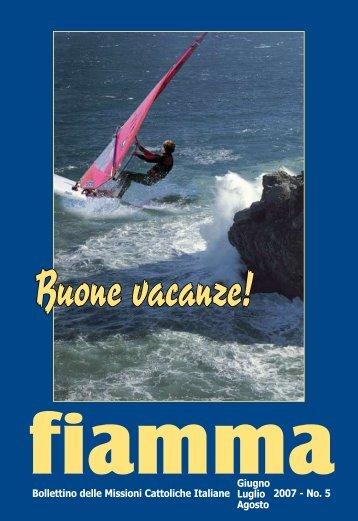 05 • 2007 - Missioni cattoliche di lingua italiana