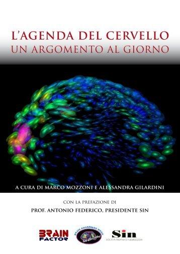 L'Agenda del cervello: un argomento al giorno - BrainFactor