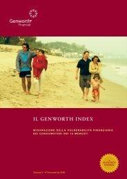 Il Genworth Index - Volume 3 - Novembre 2009 - Genworth.it