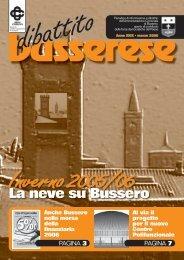 marzo 2006 - Comune di Bussero