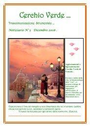 Il Notiziario 2008 - Cerchio Verde