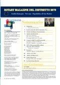 Rotary Magazine novembre 2009 - Rotary International - Distretto ... - Page 3