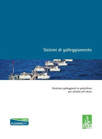 Catalogo Sistemi di galleggiamento
