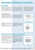 Indicatori di livello capacitivi Livellostati ... - comer-italia.com - Page 2
