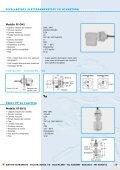 Indicatori di livello capacitivi Livellostati ... - comer-italia.com - Page 5