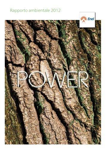 Rapporto ambientale 2012 - Enel.com