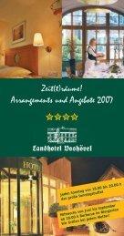 Preisliste Zeiträume 2007