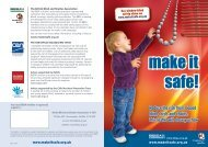 Child safety with window blinds, make it safe campaign!