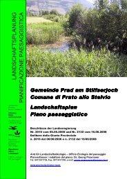 4. Sviluppo e cura del paesaggio - Provincia Autonoma di Bolzano