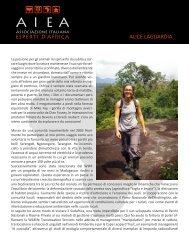 ALICE LAGUARDIA - Esperti Africa