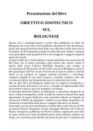 Obiettivo Zootecnico sul Bolognese - Sindacato Nazionale Scrittori