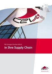 Performance Management Smart Solutions Zero ... - CEVA Logistics