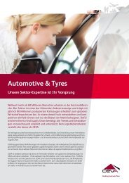 Automotive & Tyres - CEVA Logistics
