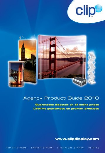 2010 Agency Catalogue - Clip Display