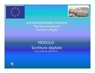 Fiaba digitale - 1° Circolo San Giovanni Bosco - Gravina