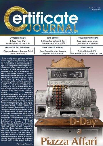 Clicca Qui Per Leggere (.pdf) - Certificate Journal