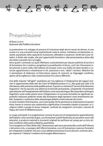 Imparare l'italiano con il metodo TPR - Educazione - Comune di ...
