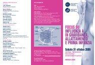 Focus su influenza A in gravidanza - Antonio Canino