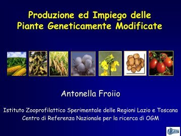 scarica pdf - (IZS) delle Regioni Lazio e Toscana