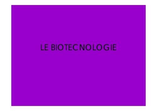 Basi molecolari: Lezione 9 - Liceo Norberto Rosa
