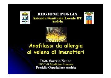 Saverio Nenna - Allergia a Veleno Imenotteri - docvadis