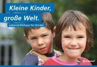 Kleine Kinder, große Welt. - COMMWORK Werbeagentur GmbH