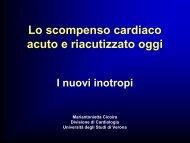 Lo scompenso cardiaco acuto e riacutizzato oggi - Cuorediverona.it