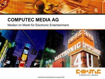 Segment PC - Computec Media AG