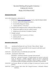 programma Romania completo - ITCG Ferruccio Niccolini
