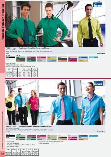 Printwear/06 Hemden und Blusen - DE - Basis - Condi-Werbung