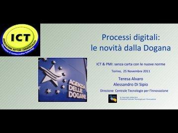 Processi digitali: le novità dalla Dogana - Ordine dei Dottori ...