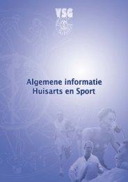 Lees meer over Huisarts en Sport - Sportgeneeskunde