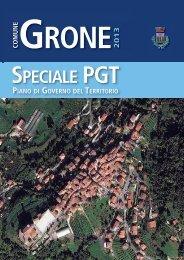 Notiziario speciale PGT - Grone