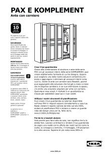 Ikea Guardaroba Pax Komplement Sistema Componibile.Biane Magazines