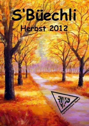 S'Büechli Herbst 2012