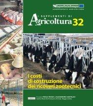 I costi di costruzione dei ricoveri zootecnici I ... - Ermes Agricoltura
