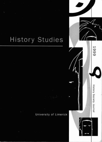 History Studies_1_1999_10.2MB.pdf - University of Limerick