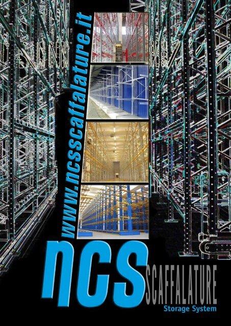 Block Sistem Scaffalature.Storage System Ncs Scaffalature